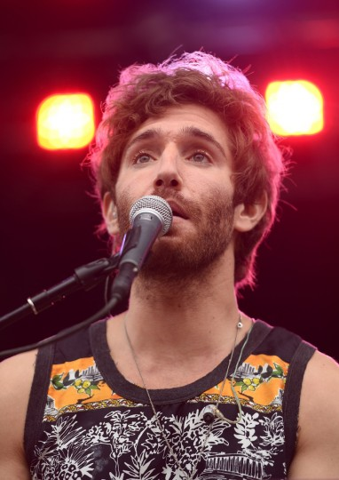 Sean Scanlon of Smallpools performs onstage during day 3 of the Firefly Music Festival on June 21, 2014 in Dover, Delaware. (Michael Loccisano/Getty Images)
