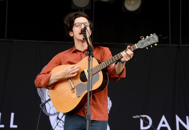 Dan Croll performs onstage during day 4 of the Firefly Music Festival on June 22, 2014 in Dover, Delaware. (Theo Wargo/Getty Images)