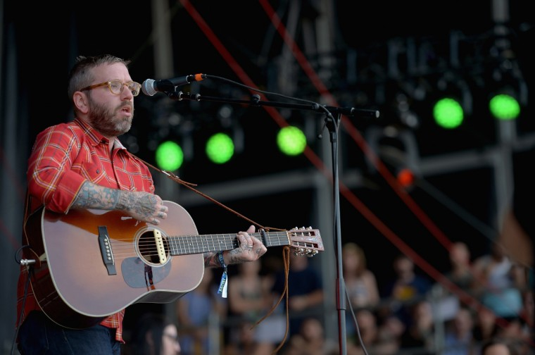Dallas Green of City and Colour performs onstage during day 4 of the Firefly Music Festival on June 22, 2014 in Dover, Delaware. (Michael Loccisano/Getty Images)