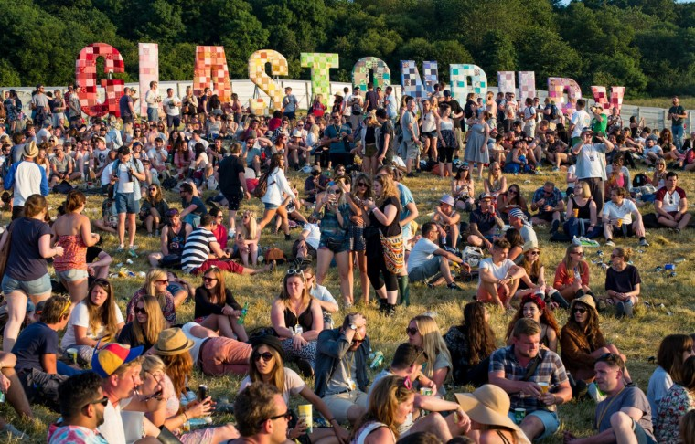 General atmosphere during the Glastonbury Festival at Worthy Farm on June 25, 2014 in Glastonbury, England. (Ian Gavan/Getty Images)