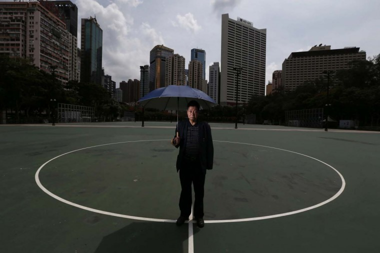 "Local businessman Chan Tat-ching, 70, poses at Victoria Park in Hong Kong May 26, 2014. Chan was the commander of ""Operation Yellowbird"", which, under his command, helped over 130 students and dissidents flee from mainland China, after the military crackdown on the pro-democracy movement at Beijing's Tiananmen Sqaure in 1989. Chan has attended every annual candlelight vigil held at the park to commemorate those who died in the crackdown. Recalling his memory of the time, Chan said, ""Initially I thought China was engaged in a big progress to allow student protests at Tiananmen Square for such a long time, but I started worrying when things developed."" Chan further said, ""I do not regret what I have done for the Operation. It is lucky that China's economy has improved since then."" June 4, 2014 marks the 25th anniversary of the crackdown. Picture taken May 26, 2014.   