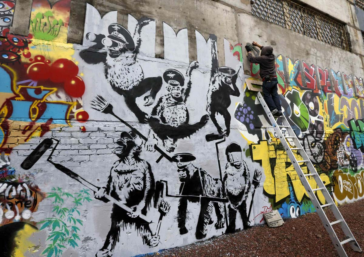 Museum of street art and contemporary art Urban Nation. Part 2 15