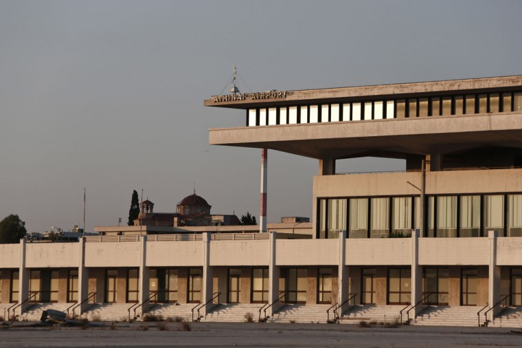 A view of the east terminal of the former Athens International airport, Hellenikon. (REUTERS/Yorgos Karahalis)