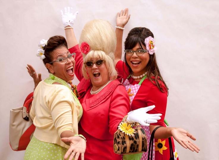 Lolita Bass, Charlene Osborne, and Nikki Bass. (Shan Gordon/Special to The Baltimore Sun)
