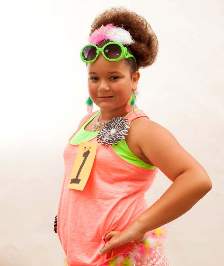 Kaylee Prestianni, 11 of Baltimore won Miss Honette Contest (girls ages 8-13). (Shan Gordon/Special to The Baltimore Sun)