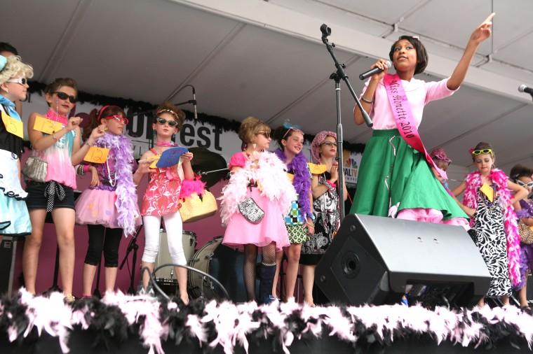 Taylor Smith-Clarke Sings at the Ms. Honette Contest: Joe SorieroJoe Soriero [Sun Photographer]