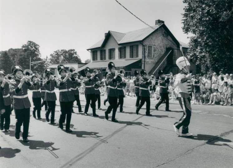 An archive photo of Catonsville's Fourth of July parade from an unknown date.