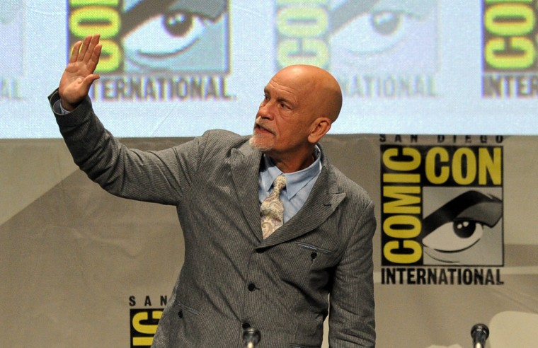 Actor John Malkovich attends the DreamWorks Animation presentation during Comic-Con International 2014 at the San Diego Convention Center on July 24, 2014 in San Diego, California. (Kevin Winter/Getty Images)