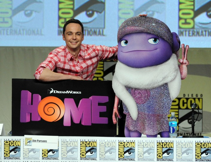 Actor Jim Parsons attends the DreamWorks Animation presentation during Comic-Con International 2014 at the San Diego Convention Center on July 24, 2014 in San Diego, California. (Kevin Winter/Getty Images)