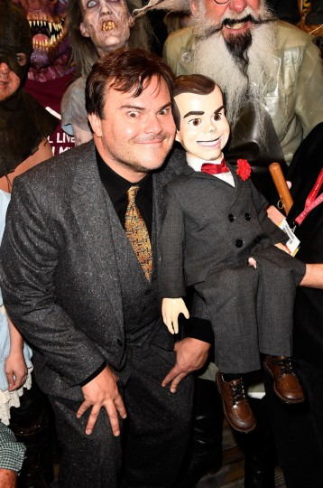 "Actor Jack Black attends Sony Pictures Entertainment's ""Goosebumps"" and ""Pixels"" panel with Jack Black during Comic-Con International 2014 at Hilton Bayfront on July 24, 2014 in San Diego, California. (Frazer Harrison/Getty Images)"