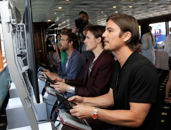Actor Josh Hartnett attends the Nintendo Lounge on the TV Guide Magazine Yacht during Comic-Con International 2014 #TVGMYacht on July 24, 2014 in San Diego, California. (Mike Windle/Getty Images)