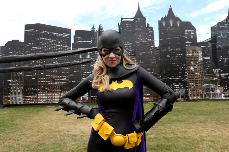 A cosplayer attends Comic-Con International 2014 on July 25, 2014 in San Diego, California. (Photo by Mark Davis/Getty Images)