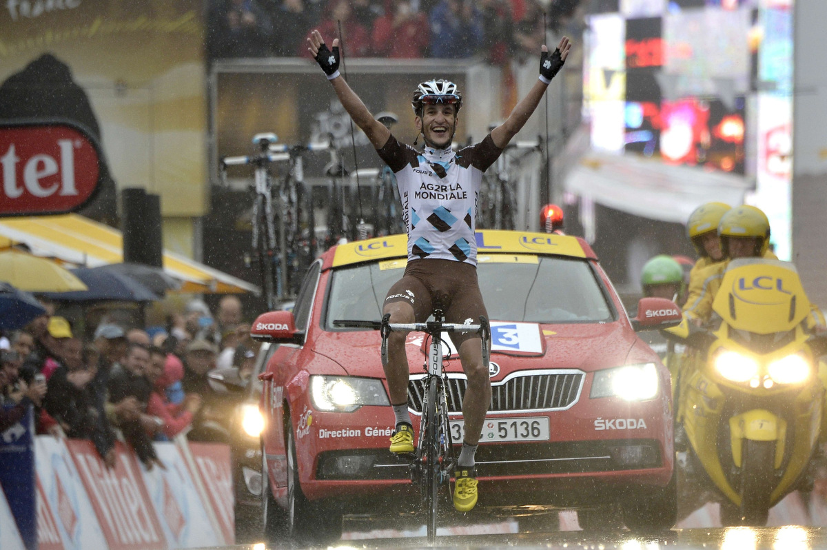 2014 tour de france stage 11 tony gallopin of france wins the stage after breakaway andrew. Black Bedroom Furniture Sets. Home Design Ideas
