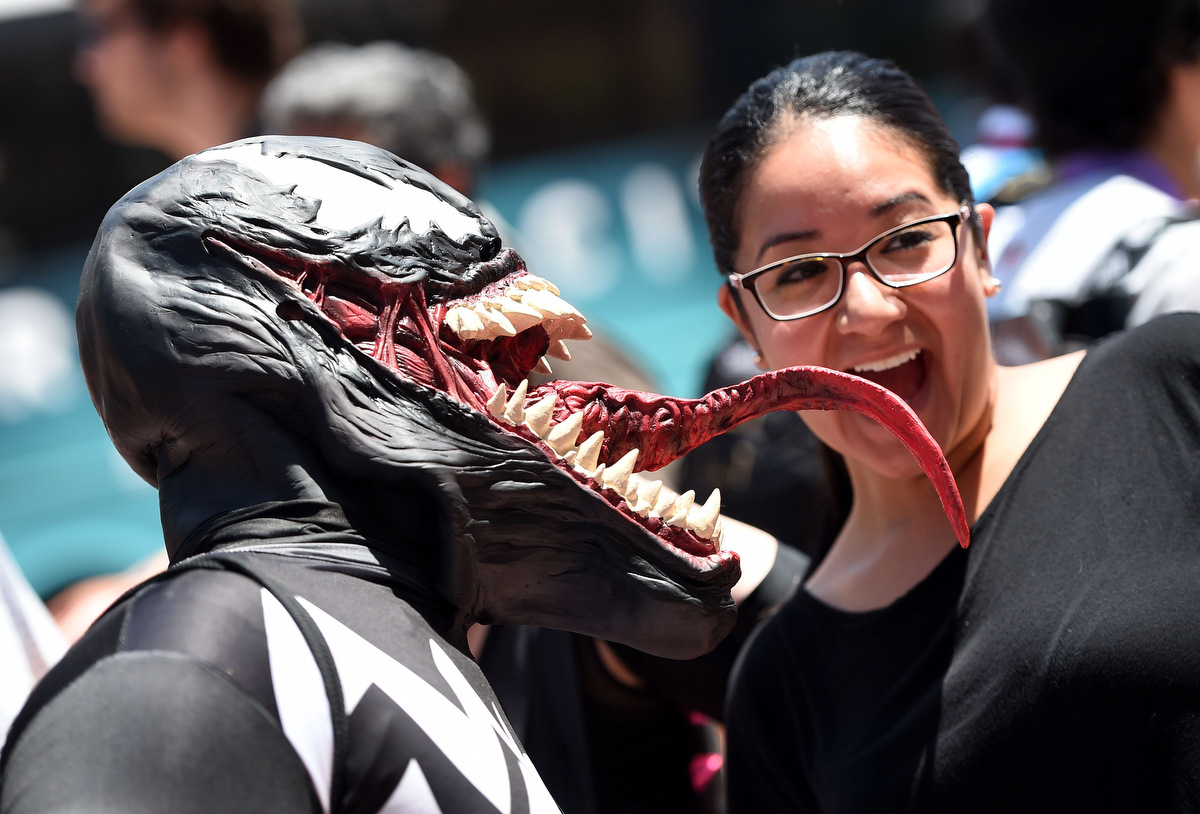 Comic-Con 2014: Zombies, Stormtroopers, Celebrities and more