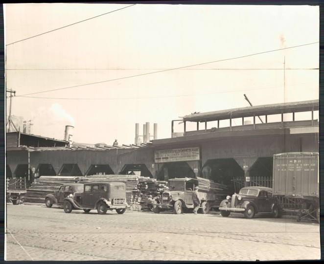 Pier 4, Light Street. (Baltimore Sun file photo dated Oct. 1940)