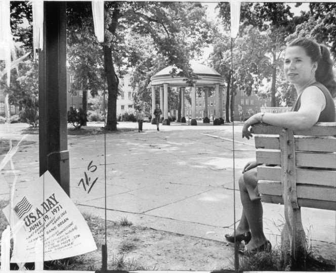 The Union Square Park in Southwest Baltimore. (William H. Mortimer/Baltimore Sun/June 1971)