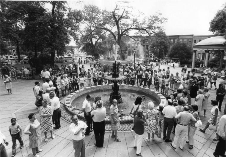 USA Day Festival, June 12, 1977. (Baltimore Sun file)