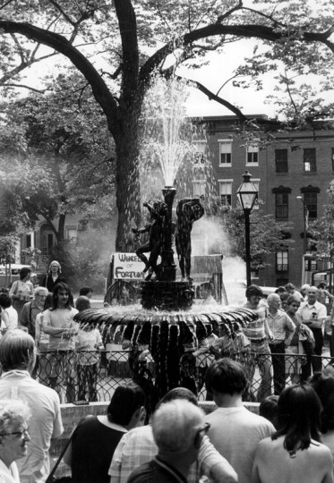 USA Day in 1977. The summer event with a patriotic theme traditionally was held on the Saturday of Flag Week, sponsored by the Union Square Association, Inc. (Baltimore Sun file/June 17, 1977)