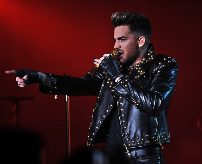 The rock band Queen featuring lead singer Adam Lambert performs at the Merriweather Post Pavilion. (Algerina Perna/Baltimore Sun)