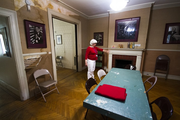 Inside the H.L. Mencken House in Union Square, across from Union Square Park. (Kalani Gordon/Baltimore Sun/2014)