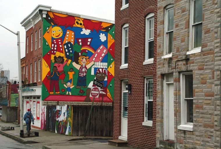 Black Cherry Puppet Theater on Hollins St. in SOWEBO. (Algerina Perna/Baltimore Sun file/Jan. 2005)