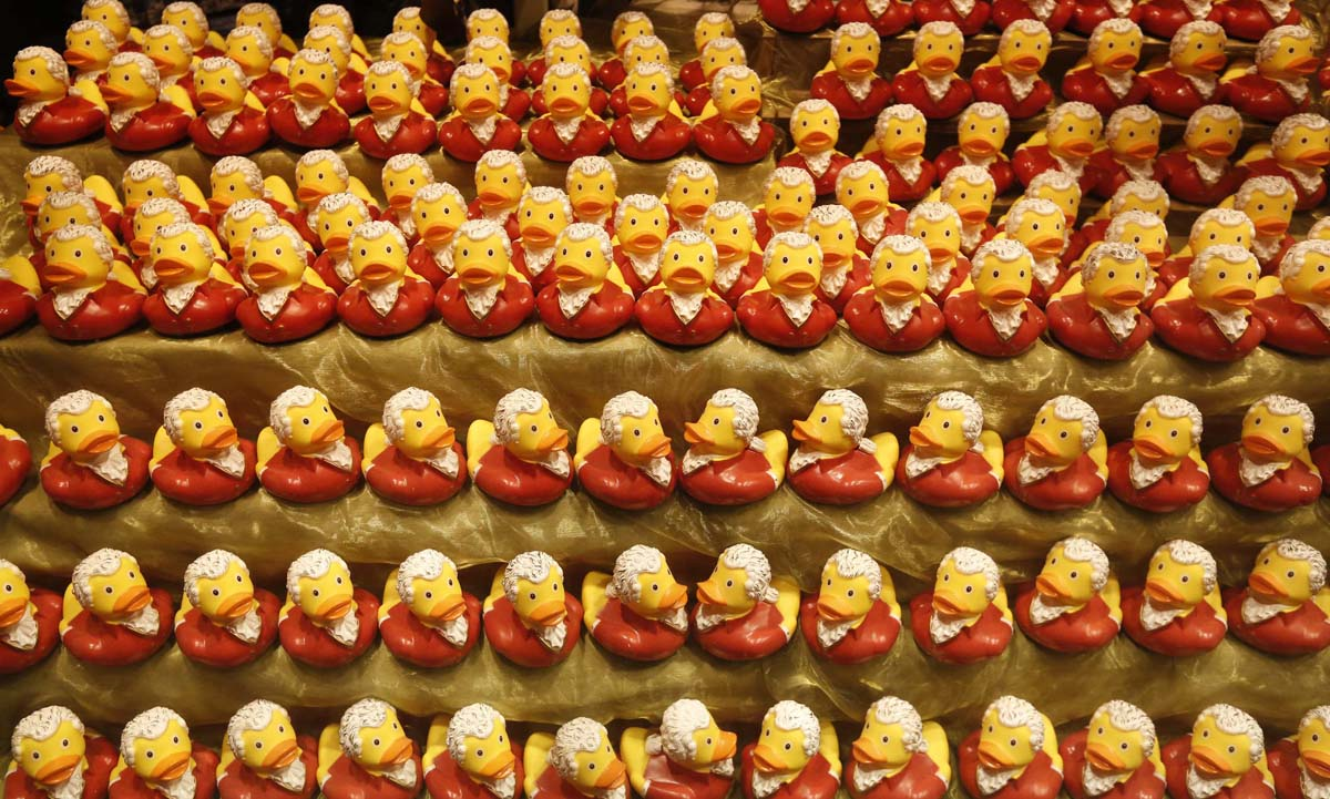 Spain's dry summer, protests in London, Mozartian Ducks | July 24