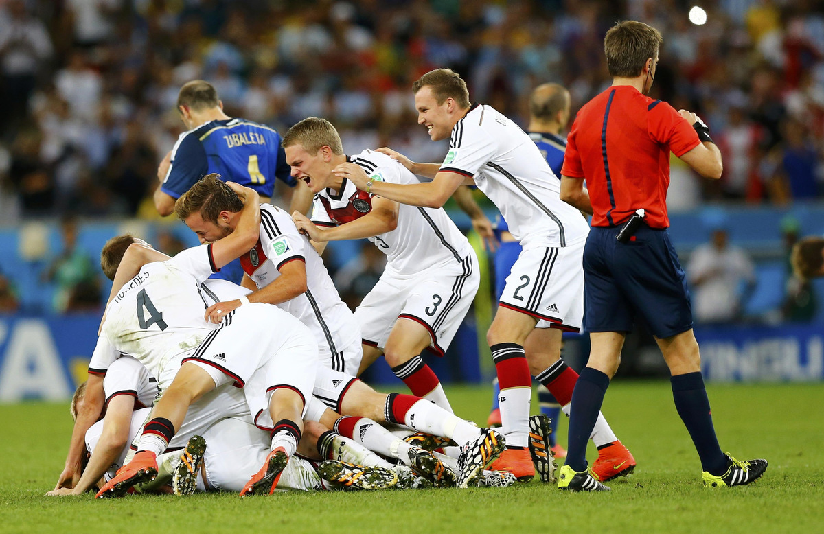 2014 FIFA World Cup: Germany defeats Argentina 1-0 in extra time for championship