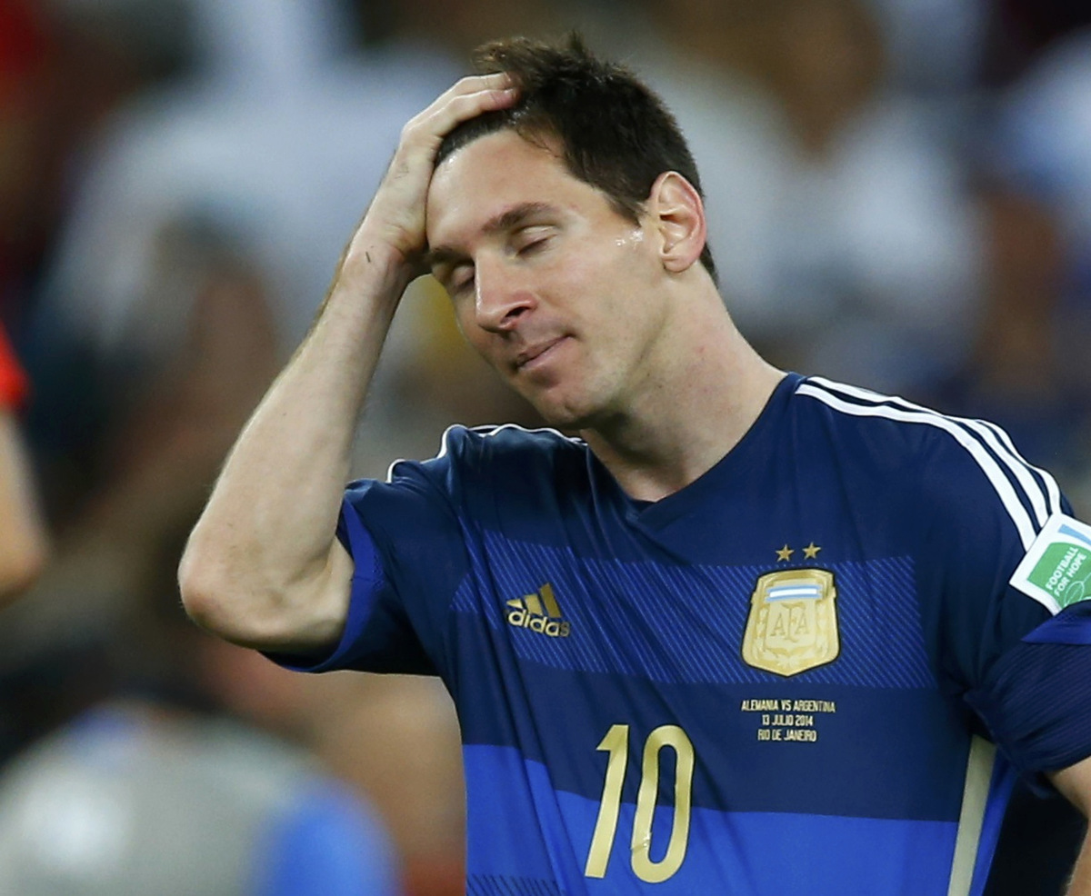 Lionel Messi World Cup 2014 Final