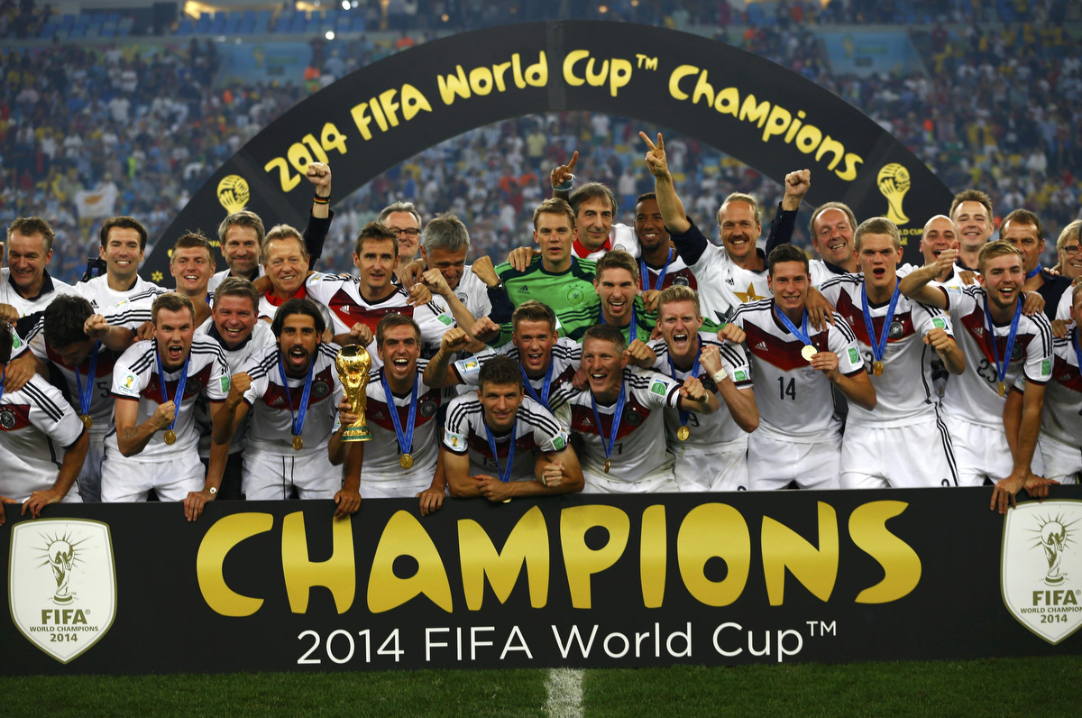 world cup football champions