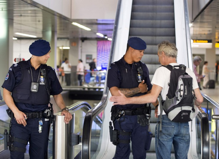 The upper floor of Schiphol Airport is closed for media and reserved for family and relatives of Malaysia Airlines flight MH-17, July 17, 2014. The Malaysia Airlines Boeing 777 plane was shot down over eastern Ukraine by pro-Russian militants on Thursday, killing more than 300 people aboard, a Ukrainian interior ministry official said. MH-17 was flying from Amsterdam to Kuala Lumpur. (Paul Vreeker/United Photos)