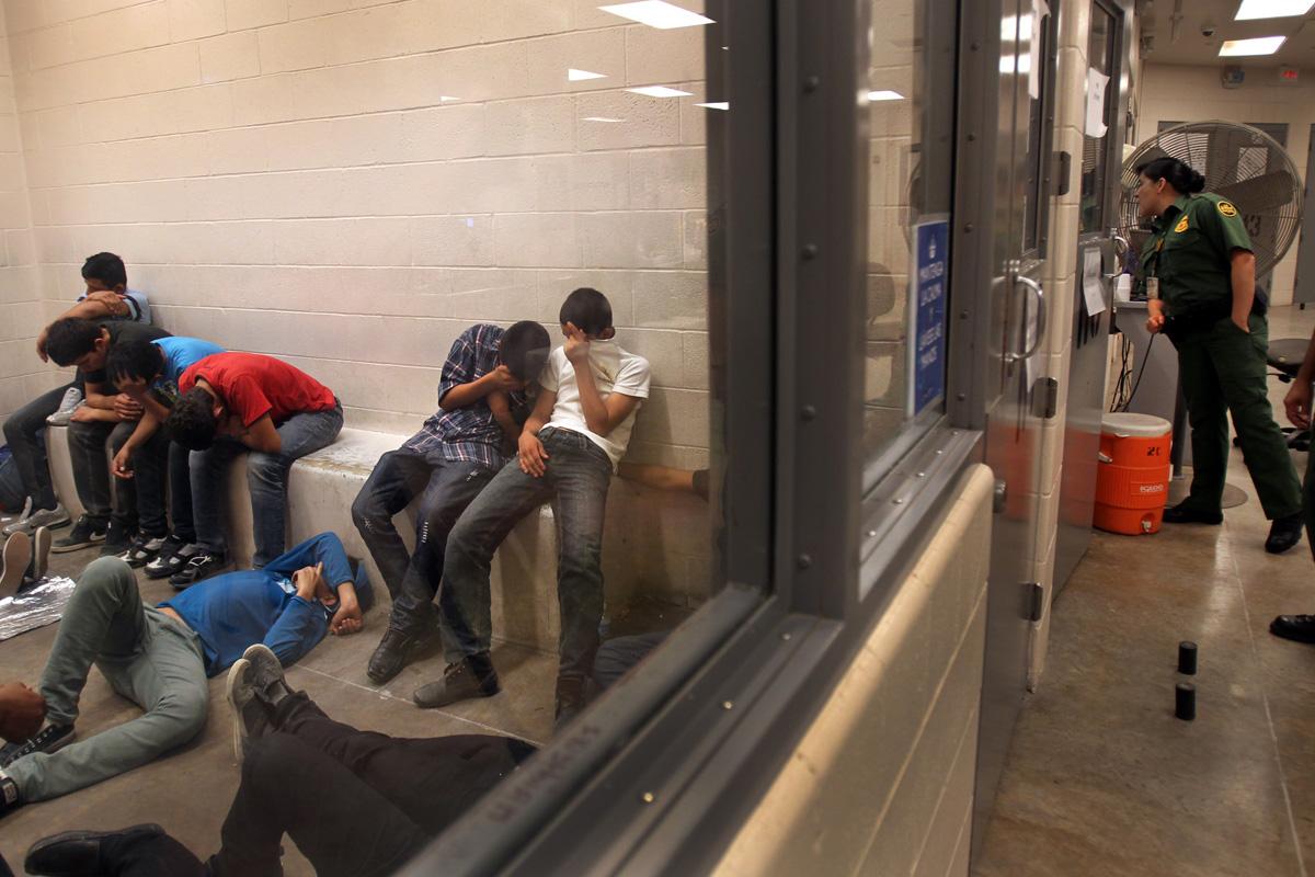 Crossing illegally: Inside the McAllen Border Patrol Station