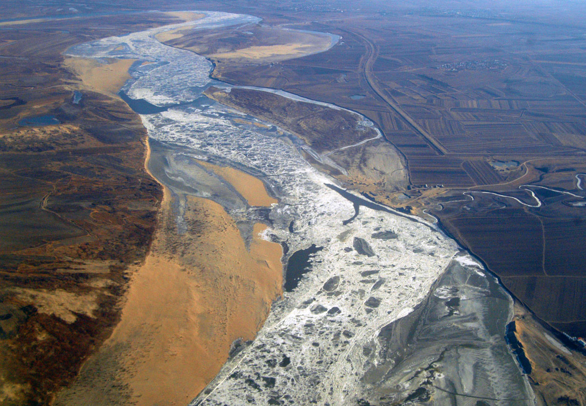 Severe water pollution in china