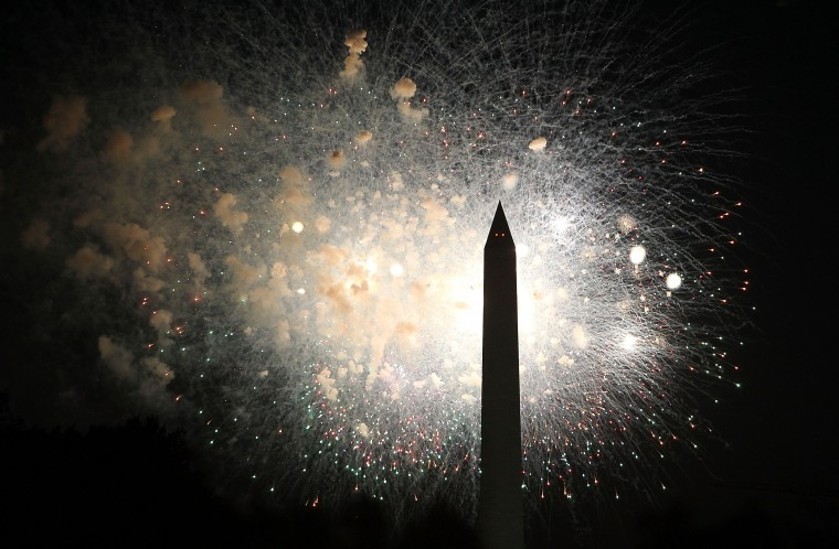 Fireworks display during A Capitol Fourth in Washington, D.C. (Paul Morigi/Getty Images for Capital Concerts)