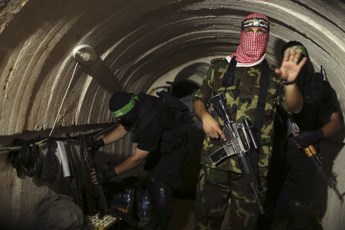 Inside Hamas' underground tunnels of the Gaza Strip
