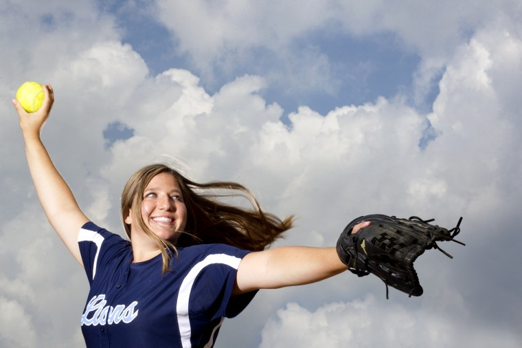 Kayli Paugh, Howard softball, June 2014