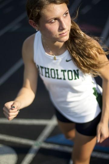 Jennifer Bleakney, Atholton track, June 2014