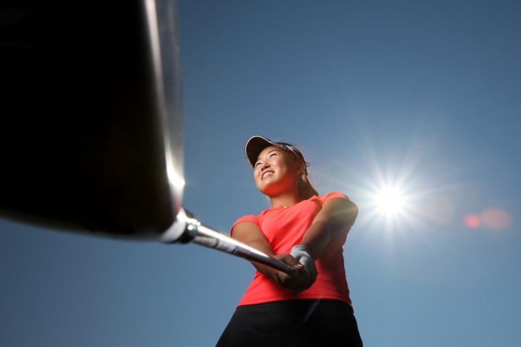 Rachel Lee, Marriotts Ridge golf, August 2012