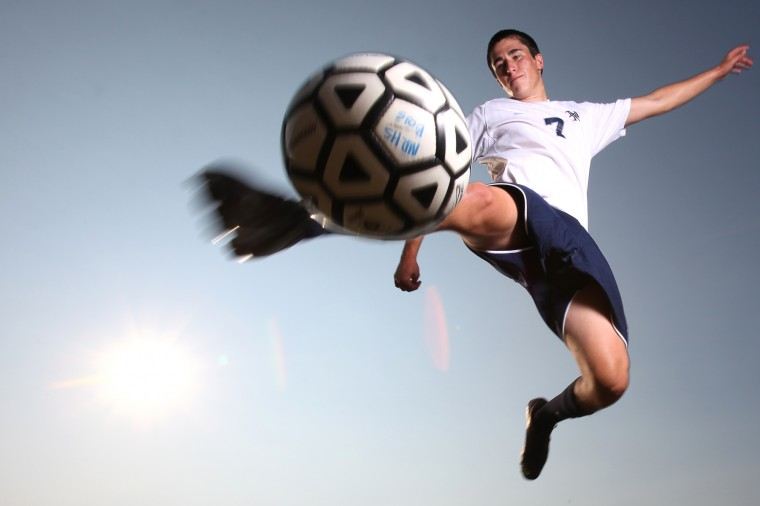 Brad Martinelli, Marriotts Ridge soccer, August 2012