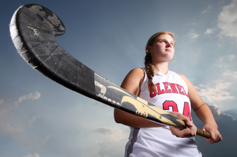 Morgan Philie, Glenelg field hockey, August 2013