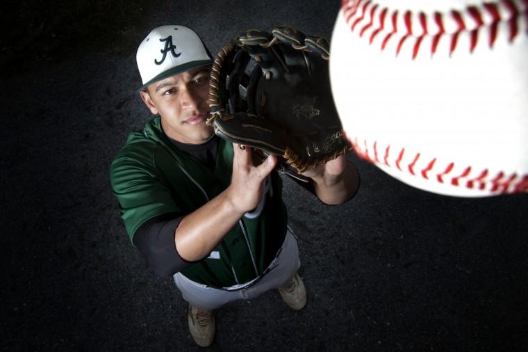 Alex Herschman, Atholton softball, March 2014