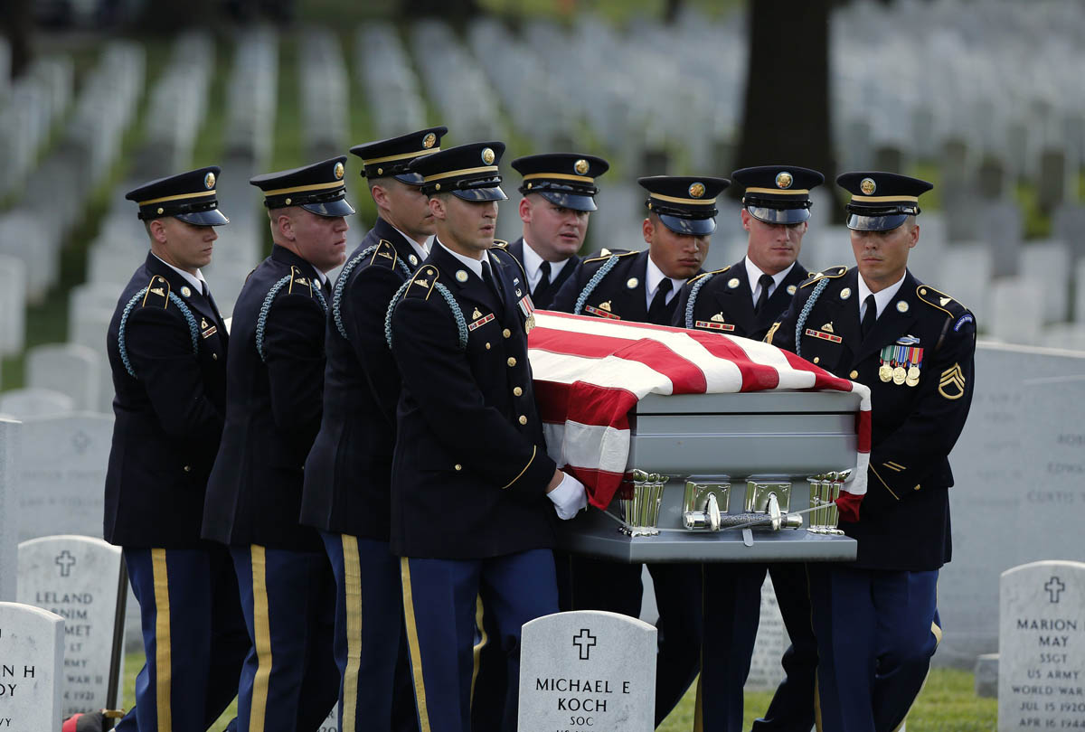Maj. Gen. Harold J. Greene, killed in Afghanistan, laid to rest