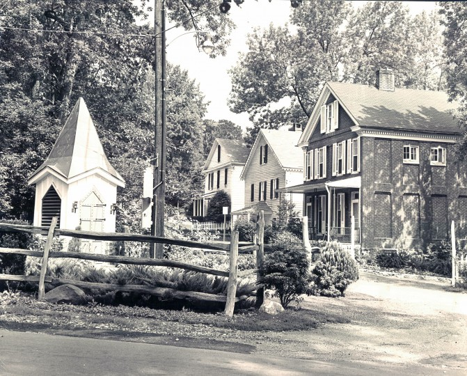 May 25, 1968: The planning Commission has recommended that historic Dickeyville built as a Nineteenth Century rural mill town, become an historical preservation area. (Edward Nolan/Sun file)