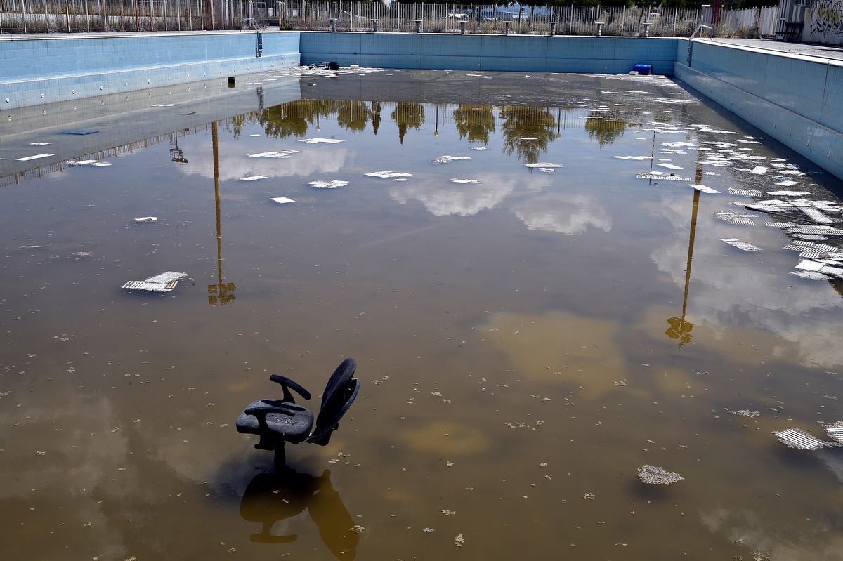 athens olympic venues in ruins ten years after the games