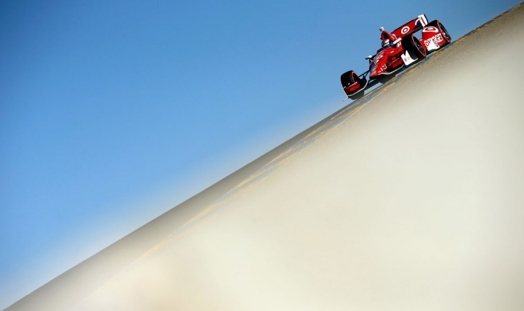 Scott Dixon of New Zealand drives the #9 Target Chip Ganassi Racing Chevrolet during qualifying for the Verizon IndyCar Series GoPro Grand Prix of Sonoma at Sonoma Raceway on August 23, 2014 in Sonoma, California. (zra Shaw/Getty Images)