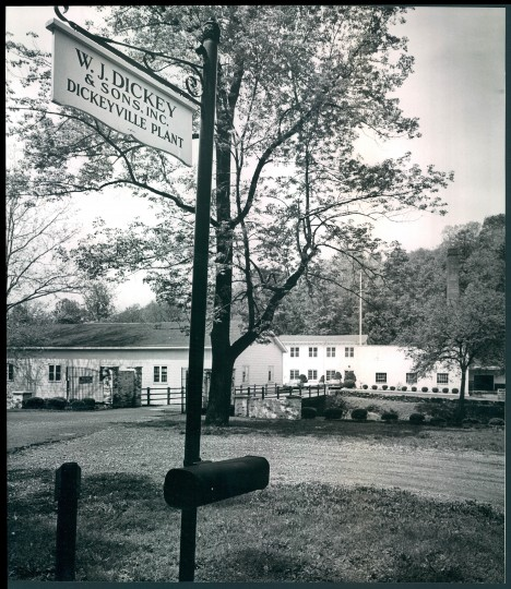 May 18, 1967: The old Ballymena Mill on Gwynn Falls near Dickeyville is to be closed down and its machinery shipped to South Caroline. A developer had plans for building apartments on the 6-acre site unless it can be sold to the city for $300,000 for park use. Under the apartment plans, the main mill building, to the left of the flagpole, would be preserved and converted to residential use. (Ellis Malashuk/Sun file)
