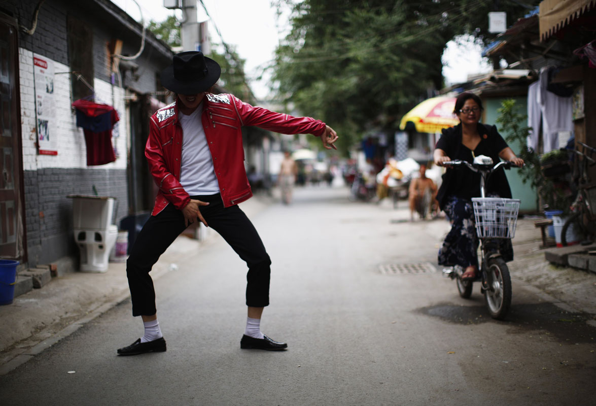 Meet Zhang Guanhui, a Michael Jackson impersonator from Beijing