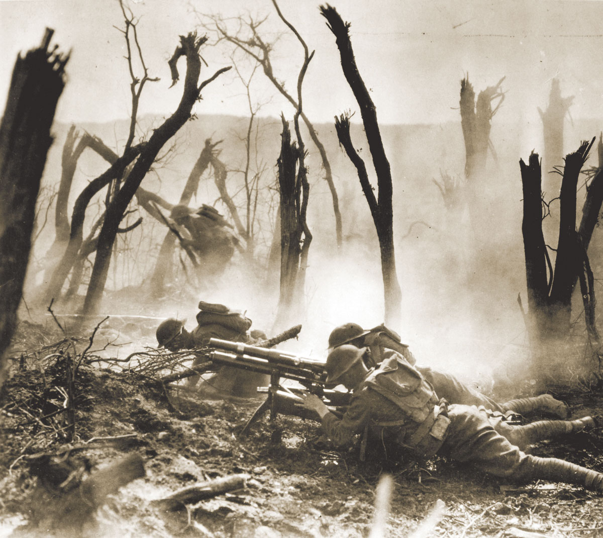 Notable firsts from World War I