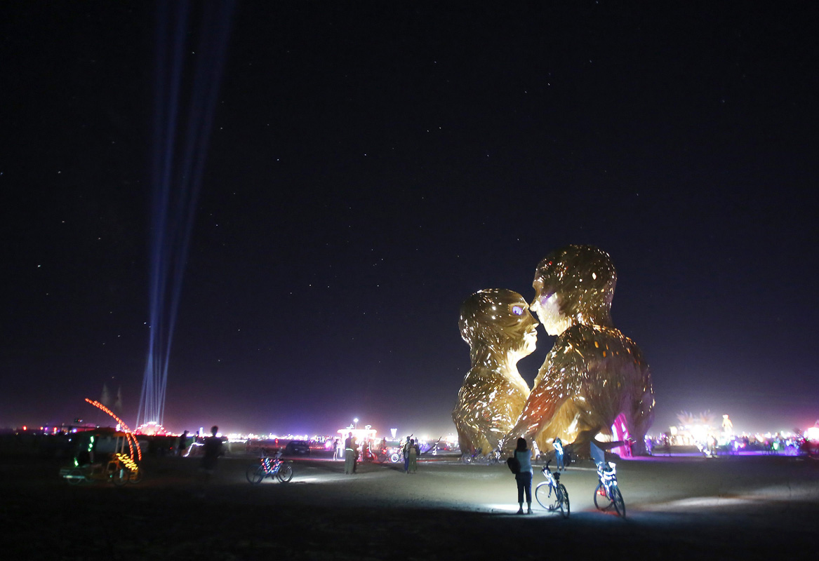 Inside Burning Man 2014