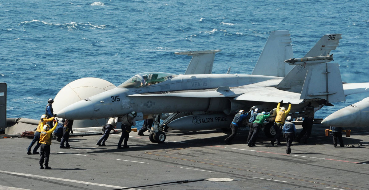 U.S. begins airstrikes on Iraq