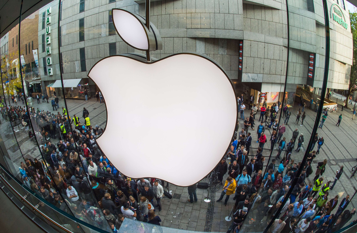 Apple's new iPhone 6 goes on sale